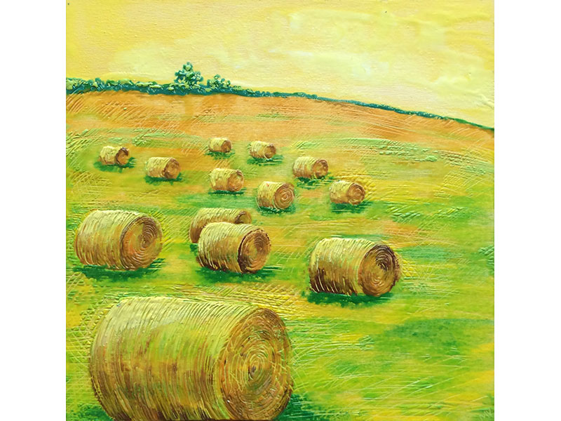 Mary-Kate Pearce - Round Bales